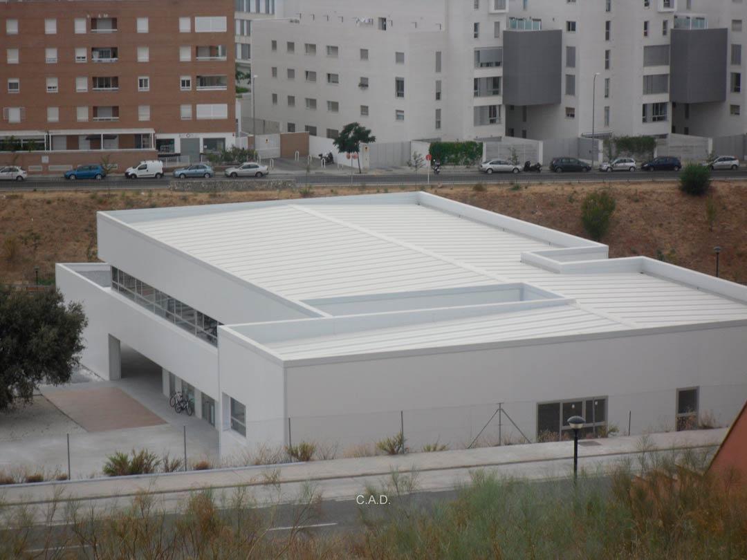 construccion-de-naves-industriales-proyectos Colegio Maria Nebrera