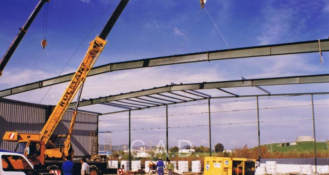 naves industriales prefabricadas precio m2 CAD Edificios Industriales S.L.